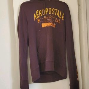 🎈Maroon aeropostale hoodie